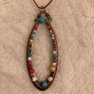 Native style necklace